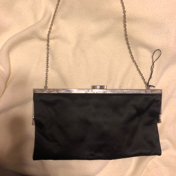 BCBGMaxAzria Handbags - black mini purse
